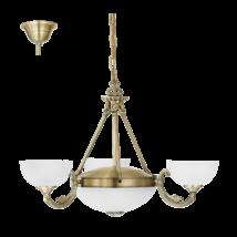 EGLO Csillár 3*40W+2*60W bronz Savoy 13152