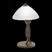 EGLO asztali lámpa E27 1x60W barna/alab.b.Vinovo