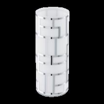 EGLO asztali lámpa E27 1x60W fehér/króm Bayman