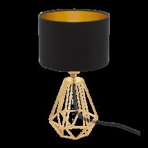 EGLO asztali lámpa E14 1x60W réz/fekete Carlton2