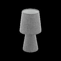 EGLO asztali lámpa E14 2x5,5W 34cm szürke Carpara