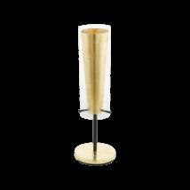 EGLO asztali lámpa E27 1x60W fek/arany Pinto Gold