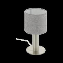 EGLO asztali lámpa E27 1x60Wmnik/szürke Concessa2