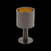 EGLO asztali lámpa E27 1x60Wbarna/cappuc.Concessa