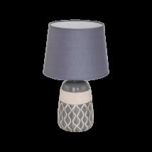 EGLO asztali lámpa E27 1x60Wbézs/szürkeBellariva2