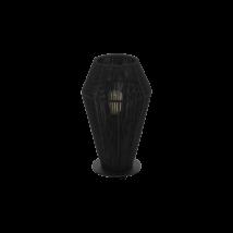 EGLO asztali lámpa E27 1x60W fekete Palmones