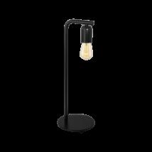 EGLO asztali lámpa E27 12W fekete Adri 3