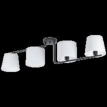 Mennyezeti lámpa E27 4x28W fekete/fehér Marojales1