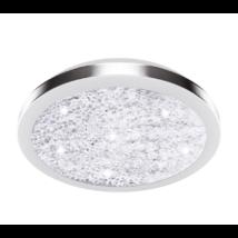 Eglo - LED Eglo - Mennyezeti .17,92W34,5cmnik/krist.Arezzo2