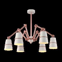 Spider Csillár 6Xe27 Fehér - Elmark