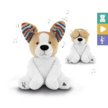 Zazu – Danny interaktív plüss kutya - angolul éneklő vígasztaló plüss