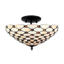 Tiffany mennyezet lámpa 2xe27/40w ø41cm