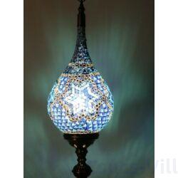 Loop Üvegmozaik óriás Marokkói asztali lámpa - 76 CM