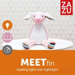 Zazu – Fin bárány - éjjeli fény, automatikus kikapcsolóval - Rózsaszín