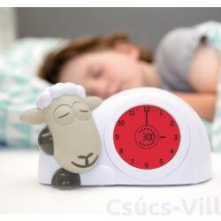 ZAZU - Sam a bárány - Óra, alvássegítő és éjjeli fény - Kék
