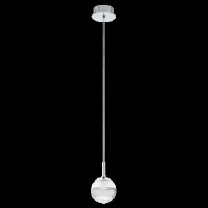 Eglo Led-Es Függesztékeszték 1X5W króm Montefio1
