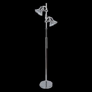 Rob állólámpa 2XE27 króm H1540MM - Elmark