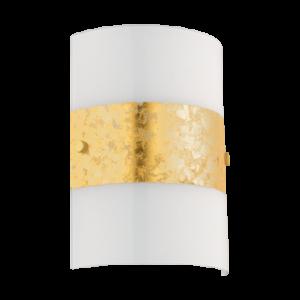 Eglo Fali Lámpa E14 1X40W Szat/arany Fiumana