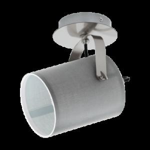 Eglo Fali Lámpa E27 10Wmattnikkel/szürkevillabate