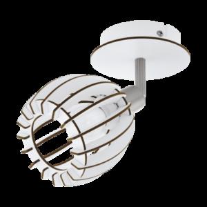 Eglo Fali Lámpa E14 28W Fehér Cossano