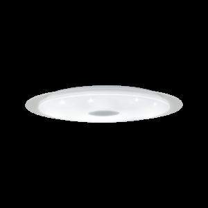 Eglo - Led Mennyezeti Ezeti 60W 76Cmkróm/Fehér Moratica-A