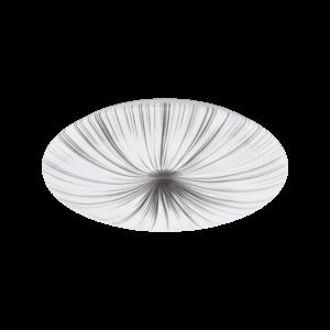 Eglo - Led Mennyezeti  33W 51Cm Fehér/ezüst Nieves