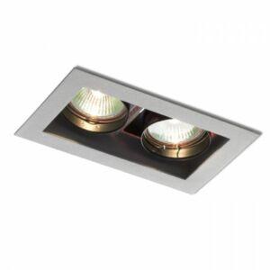 MONE II forgatható lámpa ezüstszürke  12V GU5,3 2x50W