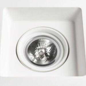 DINO SQ G53 forgatható lámpa  gipsz 12V G53 50W