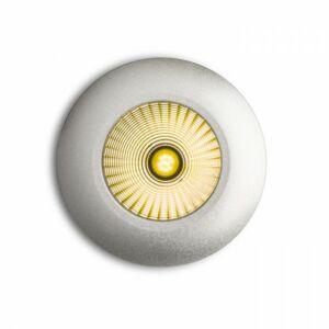 ICCO R süllyesztett lámpa ezüstszürke  230V/350mA LED 7W  3000K