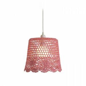 DAISY függeszték lámpabúra rózsaszín   max. 15W