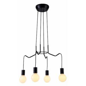 Candellux- BASSO függeszték lámpa 4x40W- fekete