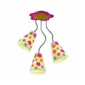 Florist gyermek mennyezet lámpa 3xe14/40w  ø35cm - Prezent