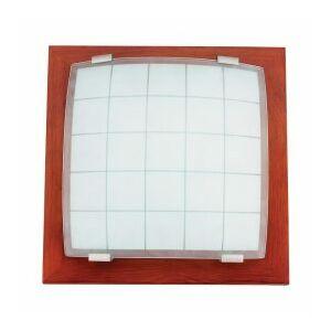 Geometrica mennyezet lámpa e27/60w cseresznye 30x30cm
