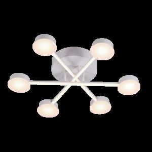 Azzar Led Csillár Matt/Fehér - Elmark