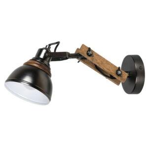 Aksel, fali lámpa, forgatható fejjel, indusztriális stílusban