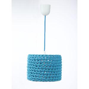 Bps - ARIADNA horgolt függeszték lámpa, 25cm- kék