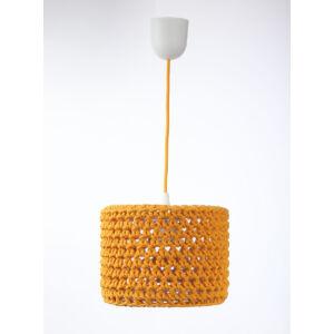 Bps - ARIADNA horgolt függeszték lámpa, 25cm- narancssárga