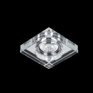 Üveg Szögletes Spotvilágítás - Elmark