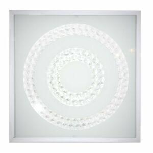 Candellux- LUX mennyezeti lámpa, 16W LED 6500K- fehér