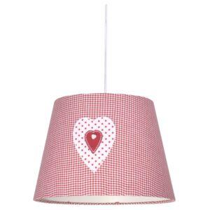 Candellux- Sweet függeszték lámpa, gyermekszobai, 1x60W- rózsaszín