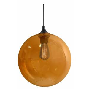 Candellux- EDISON függeszték lámpa, 1x60W- naracssárga