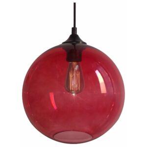 Candellux- EDISON függeszték lámpa, 1x60W- piros