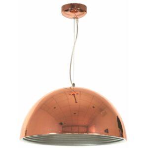 Candellux- AMALFI függeszték lámpa 1x60W, 40cm- réz