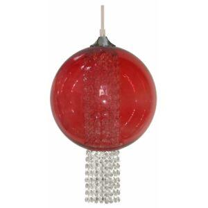 Candellux- ALLANI függeszték lámpa, 1x60W- piros