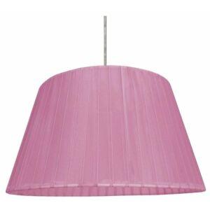 Candellux- TIZIANO függeszték lámpa, 1x60W- rózsaszín