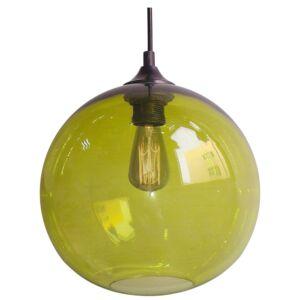 Candellux- EDISON függeszték lámpa, 1x60W- zöld