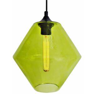 Candellux- BREMEN függeszték lámpa, 1x60W- zöld