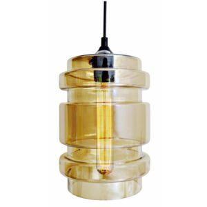 Candellux- DECORADO függeszték lámpa, 1x60W- sárga