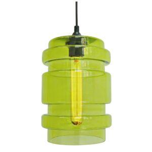 Candellux- DECORADO függeszték lámpa, 1x60W- zöld
