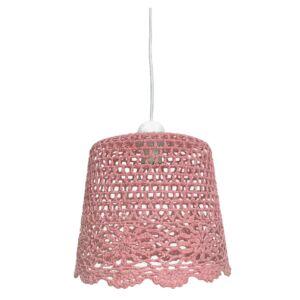 Candellux- NONNA függeszték lámpa, 1x60W- rózsaszín